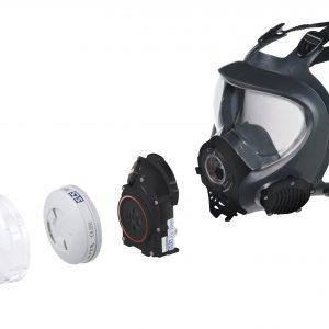 Asbestos mask